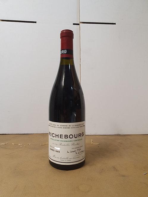 DRC RICHEBOURG 1988 1bt  @ € 2700/bt
