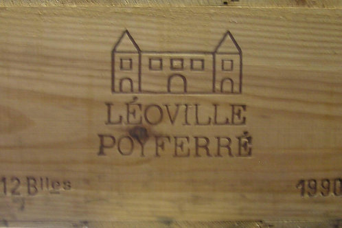 LEOVILLE POYFERRE 1990 1x12bt cbo-owc € 265/bt