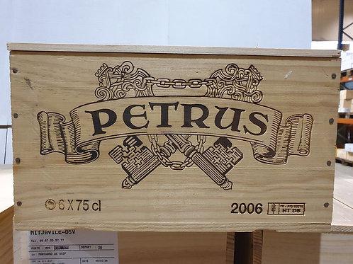 PETRUS 2006 1x6bt cbo-owc € 2000/bt