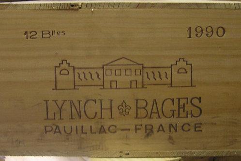 LYNCH BAGES 1990 1x12bt € 310/bt