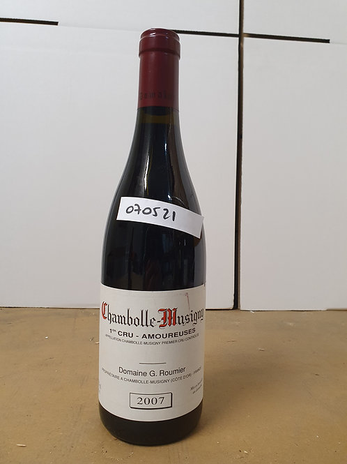 Chambolle Musigny Amoureuses G. Roumier 2007 1bt @ 2.500/bt