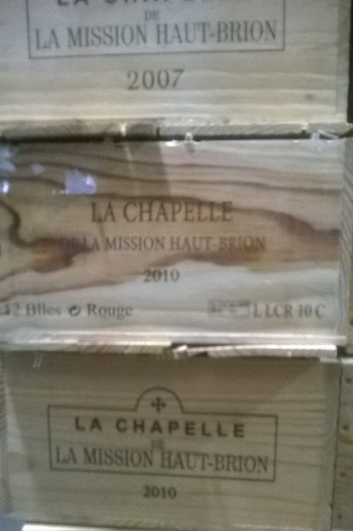 CHAPELLE MISSION 2010 1x12bt cbo-owc €88/bt