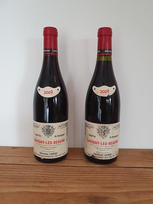 Dom LAURENT Savigny les Beaune Vieilles Vignes 2009 2bt @ € 30/bt