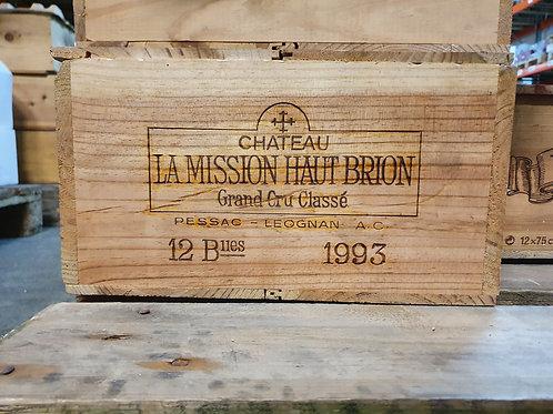 MISSION HT BRION 1993 1x12bt owc-cbo € 180/bt