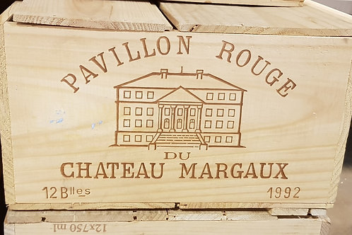 PAVILLON ROUGE MARGAUX 1992 1x12bt € 145/bt