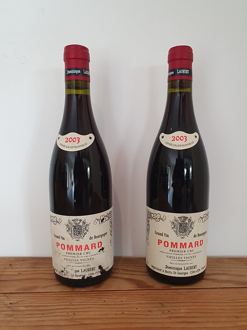 Dom LAURENT Pommard 1er cru Vieilles Vignes 2003 2bt @ € 70/bt