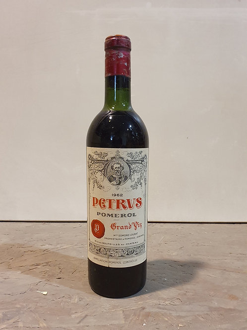 PETRUS 1962 1bt € 3100/bt