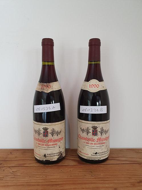 Barthod-Noëllat Chambolle Musigny Les  Beaux Bruns 1990 @ € 650/bt