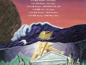 Yogee New Waves Asia tour 2019
