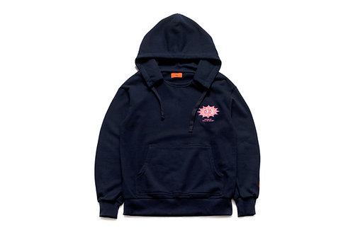 Sun Thunder Boy hoodie(Navy)