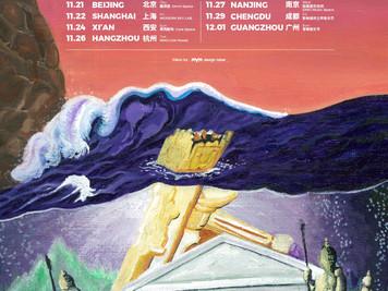 Yogee New Waves 2019中国TOUR巡演開催決定!11月續杯你的夏日風情!