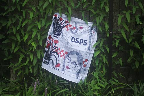 DSPS COTTON100% 方巾