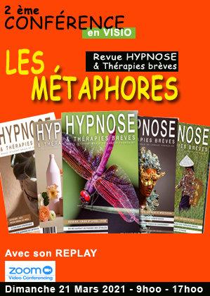 02 - En REPLAY : Colloque ''LES METAPHORES'' - 21 mars 2021