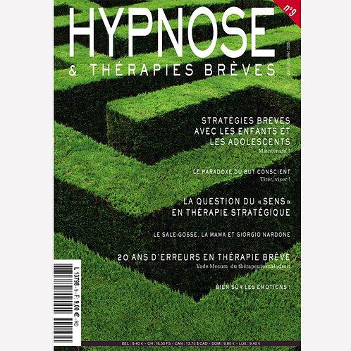 Hypnose & Thérapies Brèves n°9
