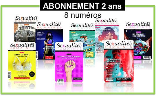 Abonnement 2 ans FRANCE Sexualités Humaines