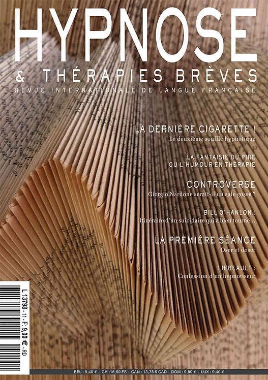Hypnose & Thérapies Brèves n°11