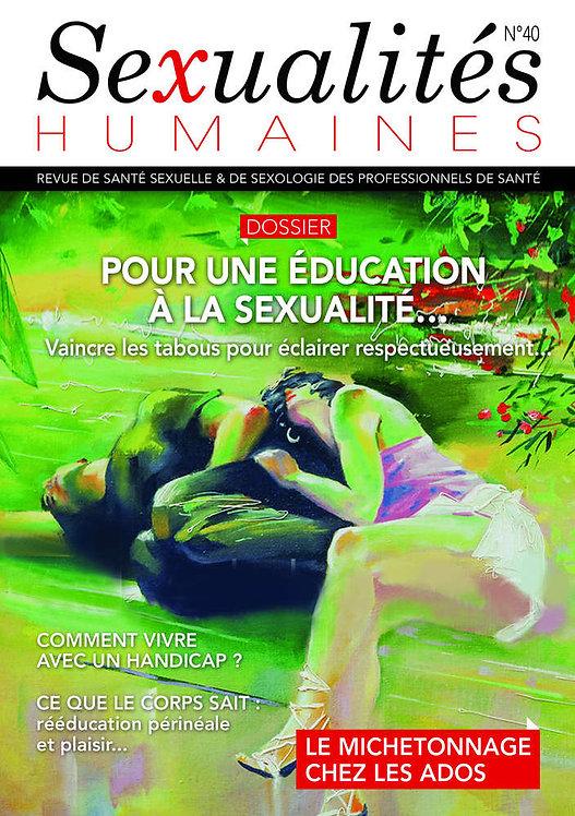 Sexualités Humaines n°40
