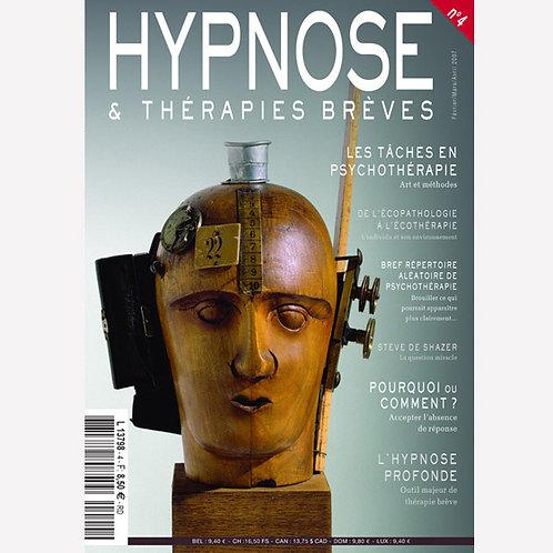 Hypnose & Thérapies Brèves n°4