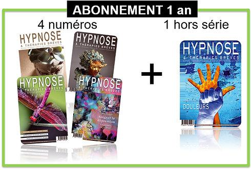 Abonnement 1 an HORS FRANCE Hypnose et Thérapies Brèves