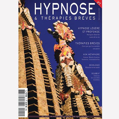 Hypnose & Thérapies Brèves n°1 en PDF