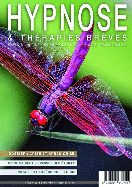 Hypnose & Thérapies brèves n°58