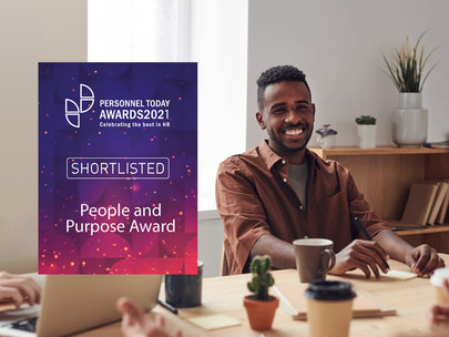 We've been shortlisted in the Personnel Today Awards!