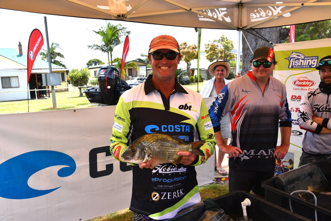 KIME HANGS ON TO WIN NEW BASS CAT