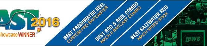 Lew's Wins Multiple ICAST 2016 Awards