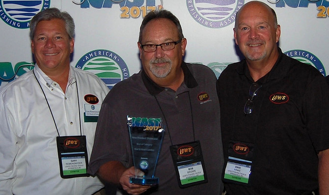 """It's a Lew's 4-in-a-row """"Best"""" at ICAST 2017"""