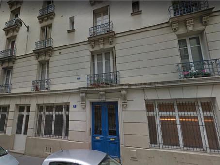 La Selarl AY déménage à compter du 16 Octobre 2017 au 5 Cité de Phalsbourg 75011 PARIS