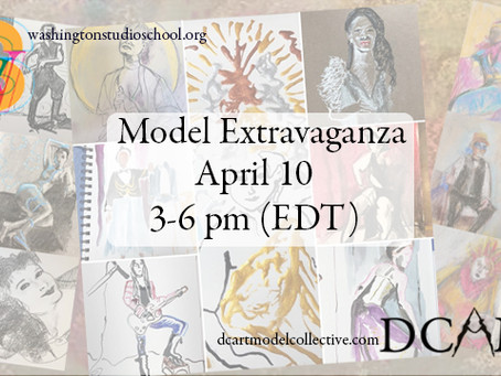 2nd Saturday Model Extravaganza with DC Art Model Collective
