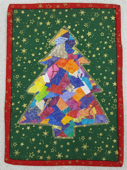 Xmas Tree Crazy Applique 5