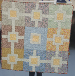 Linked Squares Quilt