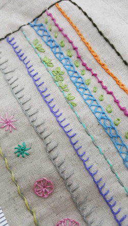 Embroidery smple