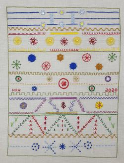 Hand Embroidery Hilary Furness-Huson