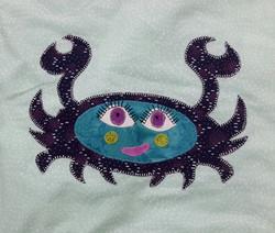 Crab Blue
