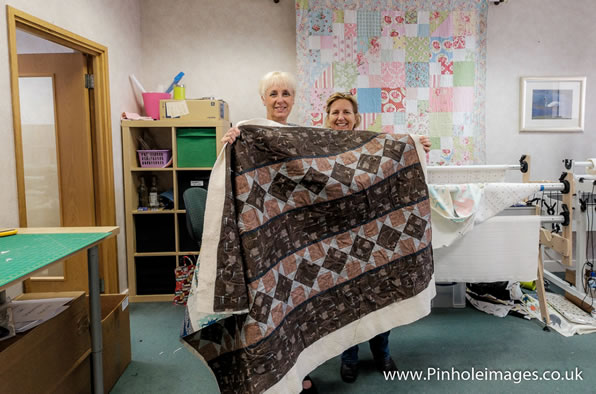 PL16Q Quilting Finished