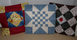 Quillow cushions