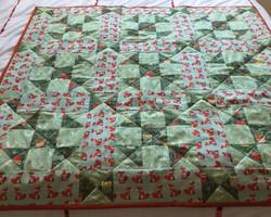 Helen's Shoofly quilt