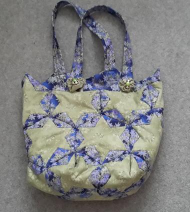 Folded Bag Silver
