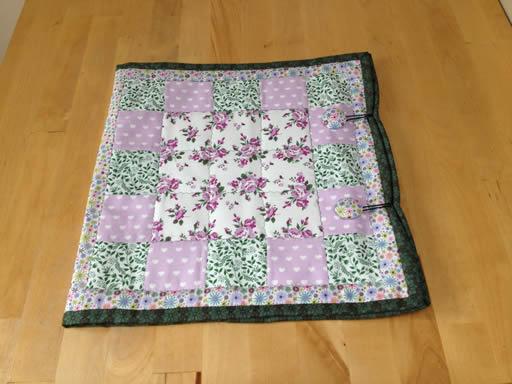 Floral Block Folder