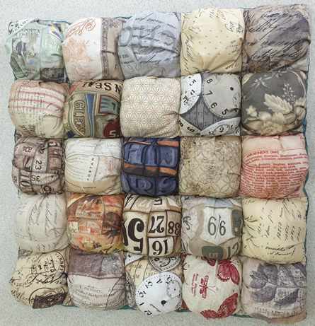 Lila Biscuit Quilt