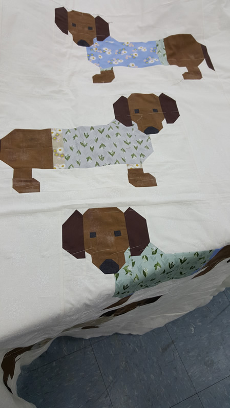 Doggy quilt