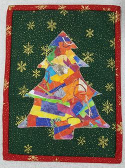 Xmas Tree Crazy Applique 8