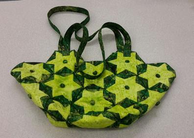 Folded Bag Green