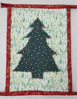 Xmas Tree Applique 3