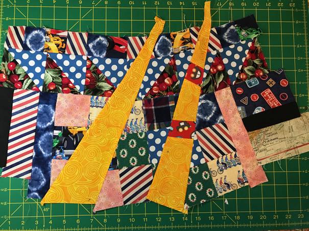RC Improv patchwork pieces