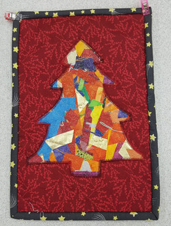 Xmas Tree Crazy Applique 7
