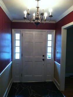 Before - interior entry