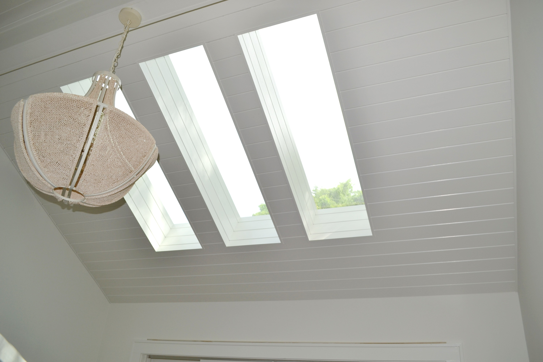 skylights over master bedroom